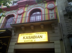 Bataclan Kasabian